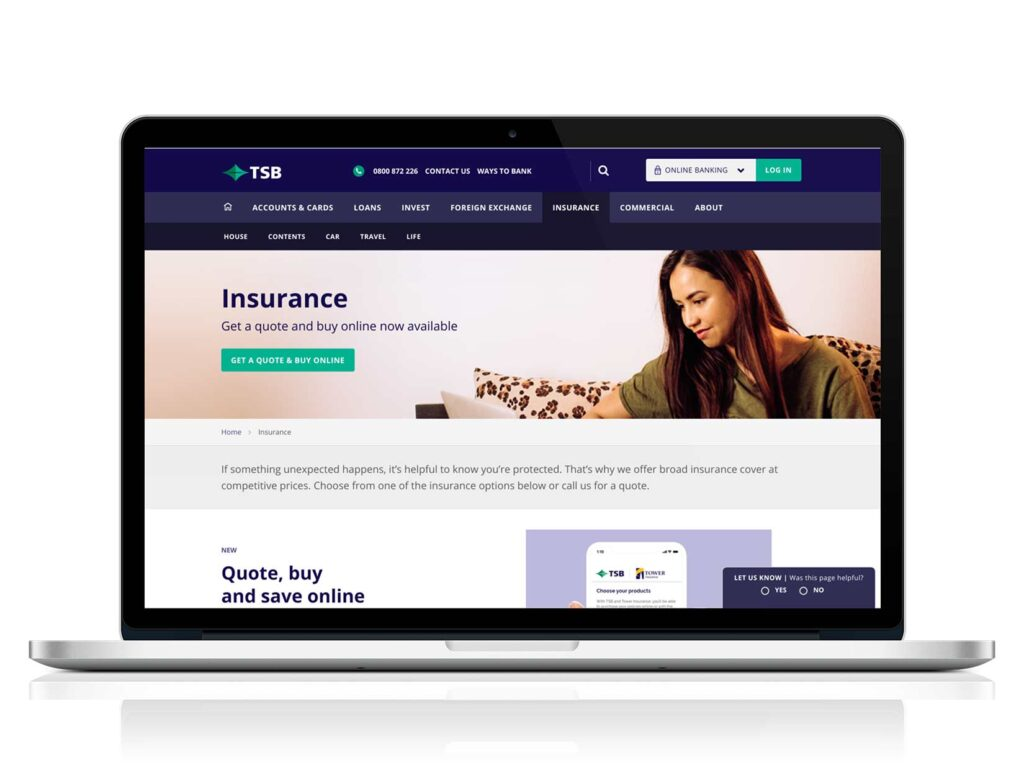 tsb insurance quote