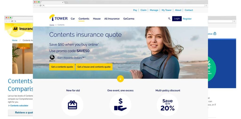 compare contents insurance in nz