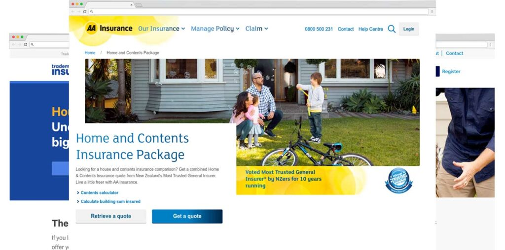 compare house insurance in nz